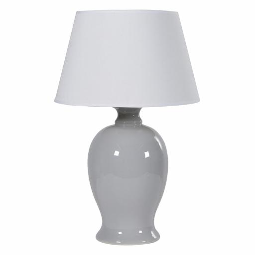 Lamp Blue/Grey With Shade