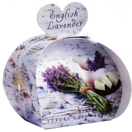 English Lavender Luxury Guest Soap