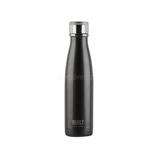 Built Water Bottle Charcoal Grey