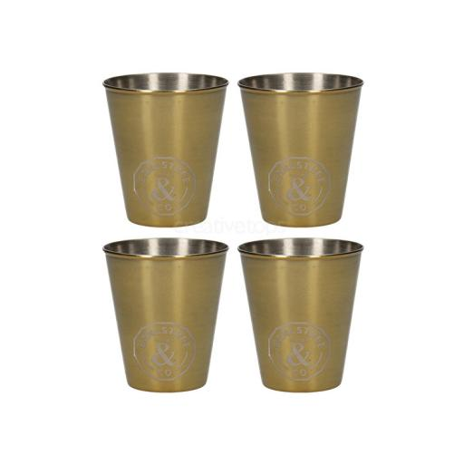 Faux Leather Set Shot Glasses