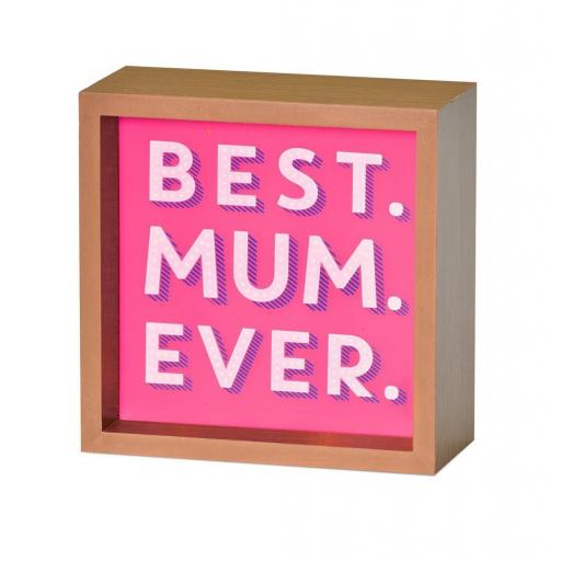 Light Box Best Mum