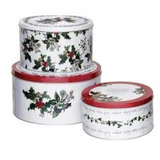 Christmas Wish Cake Tin Small