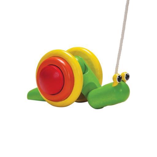 Pull-Along Snail - Plan Toys