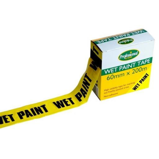 Wet Paint Tape 200M
