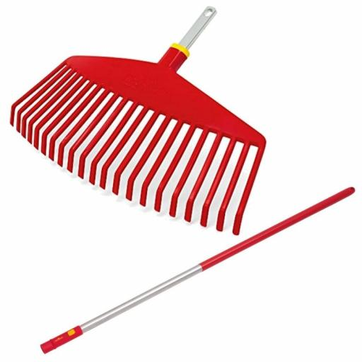 Wolf Lawn Care Set Rake Head & Handle