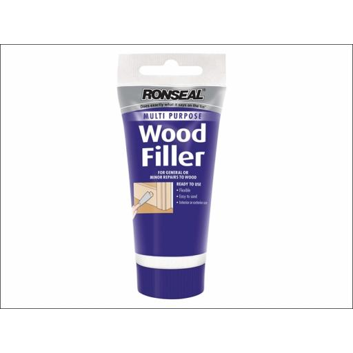 Ronseal Multi Purpose Wood Filler Tube Medium 100g