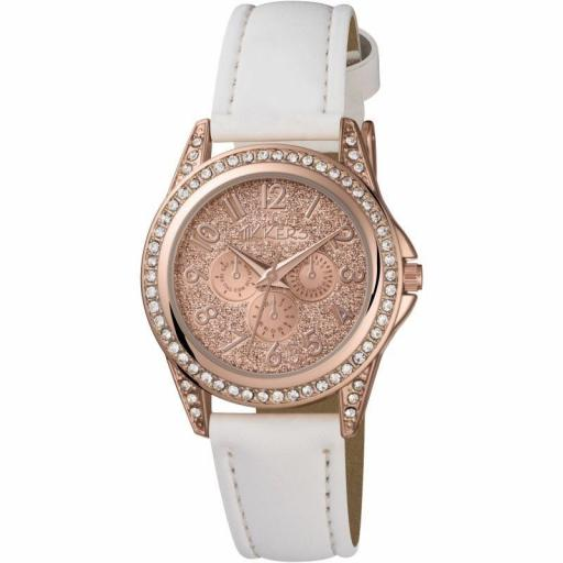 Watch Tikkers Rose Gold / White Strap