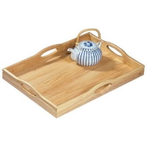 Hevea Large Tray With Handles