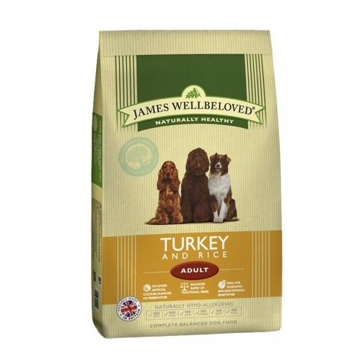 Wellbeloved Turkey & Rice Adult