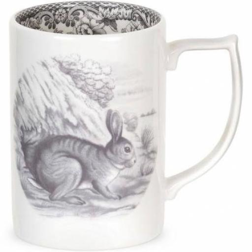 Delamere Rural Spode Rabbit Mug
