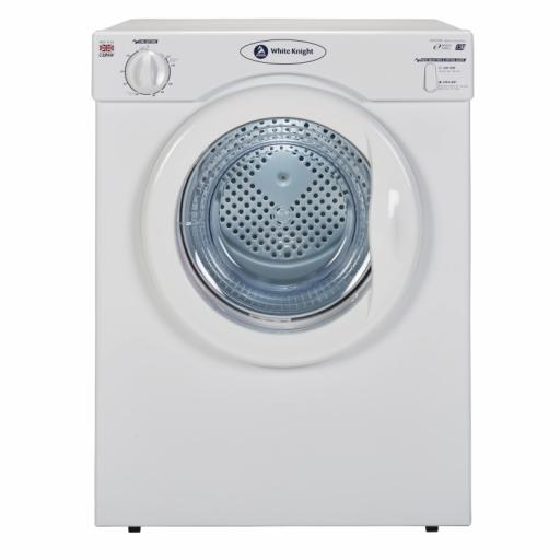 White Knight C39AW 3.5kg Vented Tumble Dryer - White - C Rated