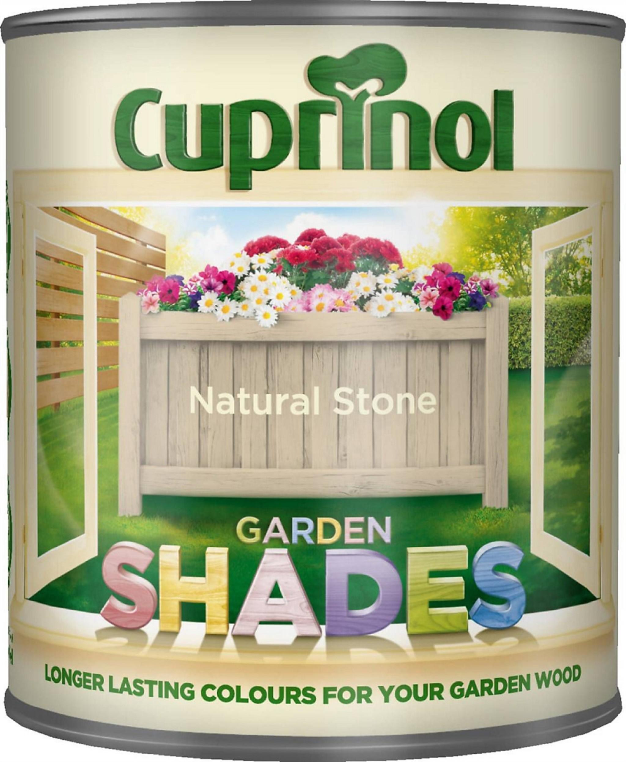 Cuprinol Garden Shades Natural Stone Matt Wood Paint 1ltr Staines And Brights