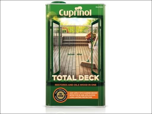 Cuprinol Total Deck Clear 2.5L