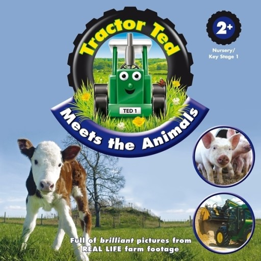 Tractor Ted Book Meets The Animals