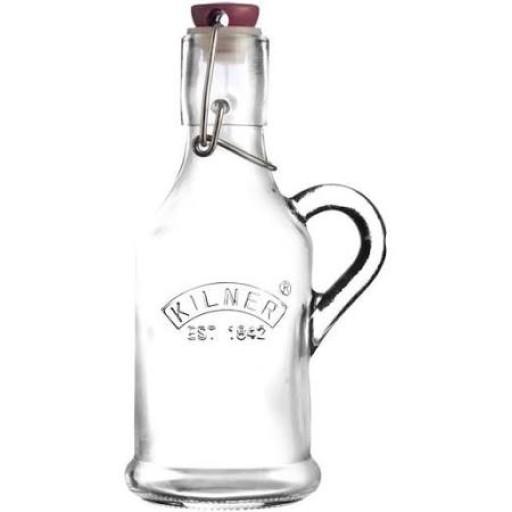 Kiner Handled 200Ml Cliptop Bottle