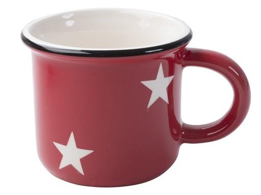 Creative Tops Red Stars Enamel Mug