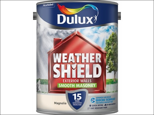 Dulux Weather Shield Smooth Magnolia 5L