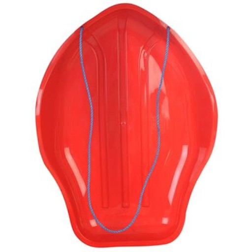 Stingray Plastic Sledge Colour: Red
