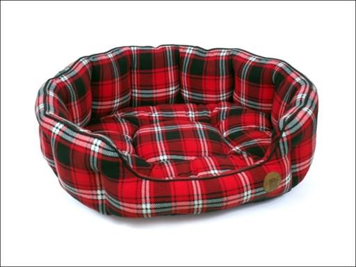 Dog Bed Tartan Petface