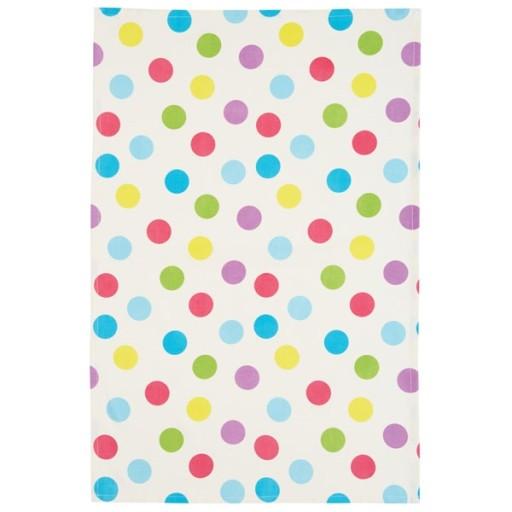 Tea Towel Set Polka Dots