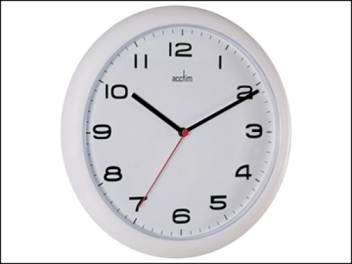 Aylesbury Wall Clock White 92/301