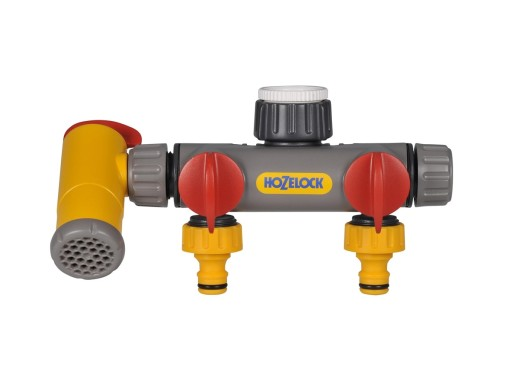 Hozelock Flow Max 3Way Tap Connector