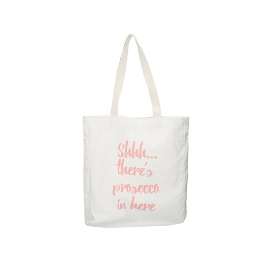 Canvas Bag Shh Theres Prosecco...