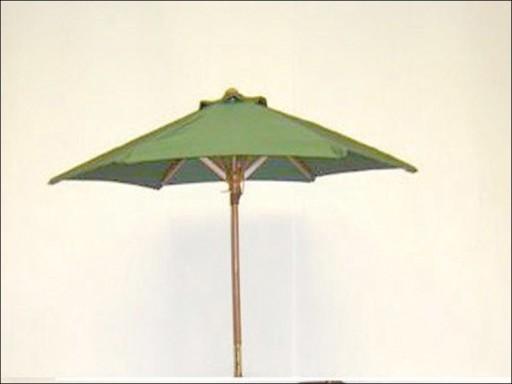 Hhoutdr Wooden Parasol Grn 200/210Cm P