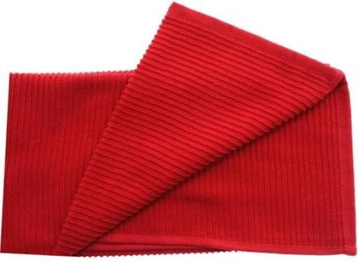 Tea Towel Ripple Red