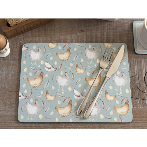 Placemat Feather Lane x6