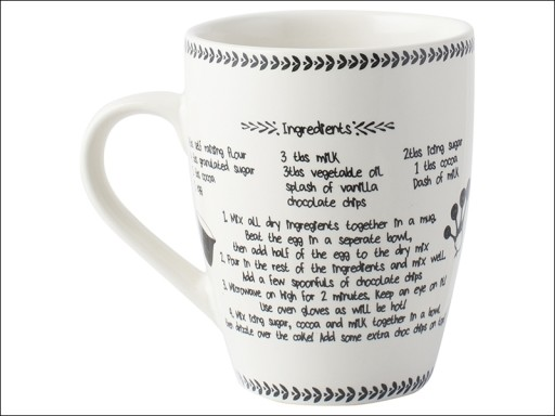 Stir It Up Cake Recipe Mug