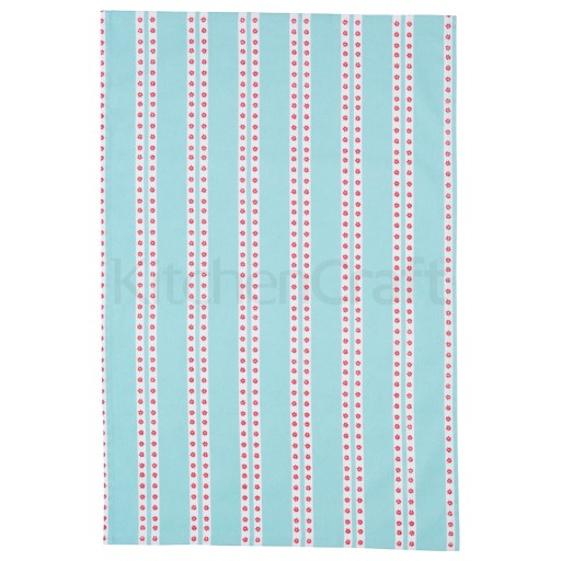 Tea Towel Setblue/Pink Ditsy