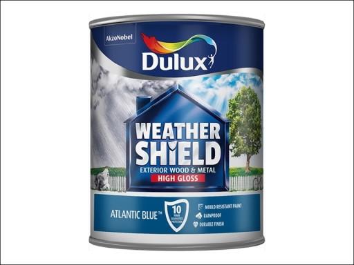 Dulux Weather Shield Gloss Atlantic Blue 750Ml