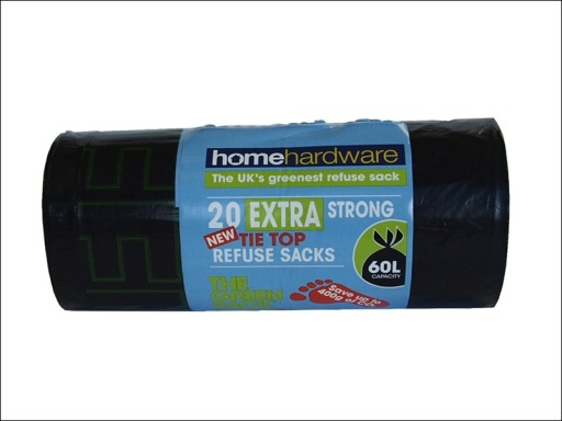 Home Green Extra Strong Tie Refuse X20