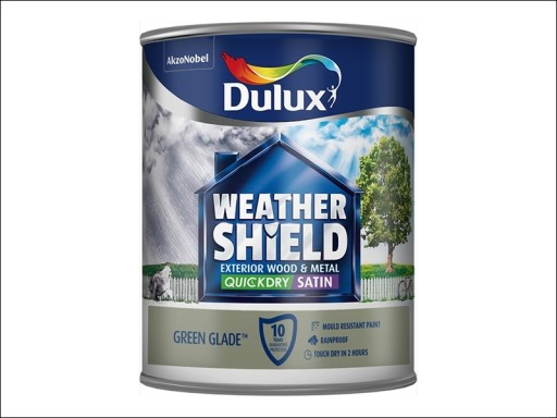 Dulux Weather Shield Satin Green Glade 750Ml