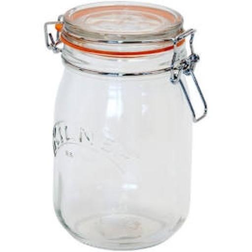 Kilner Jar Clip Top 1Ltr