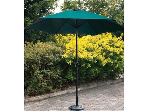 Parasol Green With Crank
