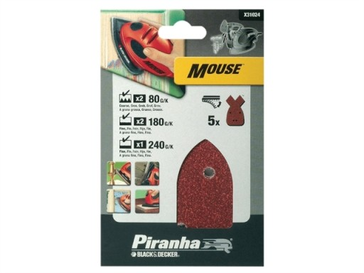 Black & Decker Sanding Disc Mouse