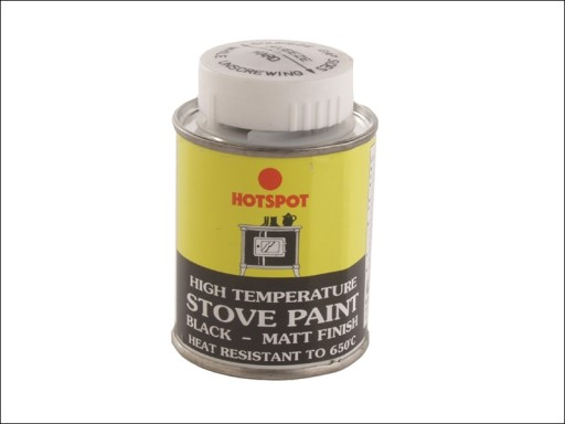 Hotspot 201010 Stove Paint Tin Blk.100Ml