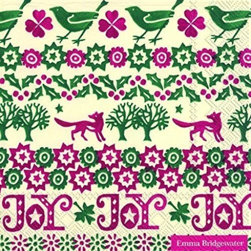 Napkin Eb Christmas Joy