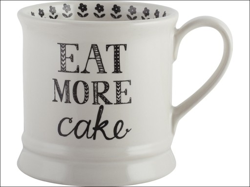 Stir It Up Mug Eat More Cake
