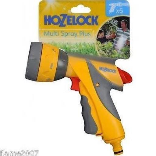 Hozelock Multi Spray Gun With Connector