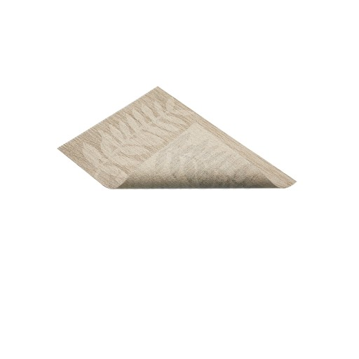 Placemat Woven Beige Leaf