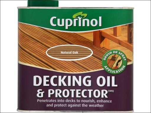 Cup Deck Oil Natural Oak 2.5L