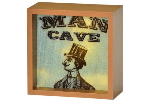 Light Box Man Cave
