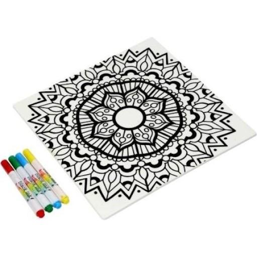 Just Add Colour Surface Saver Mandala