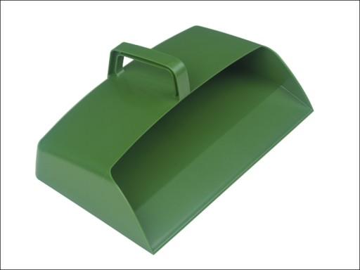 Hillbrs Dp3G Enclosed Plastic Dustpan Grn 305Mm