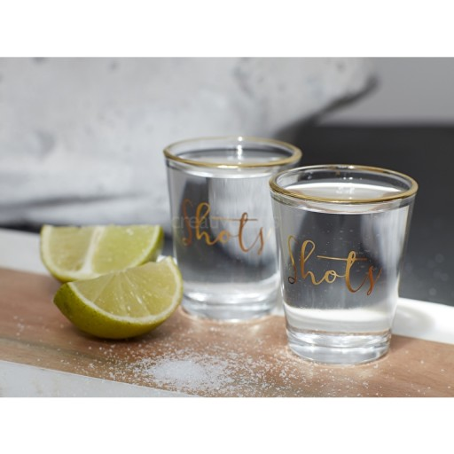 Ava & I Party Set Of 2 Shot Glasses