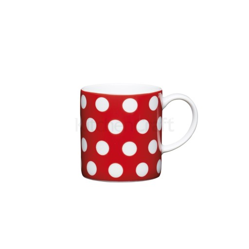 Kc Espresso Mug Red Polka Dot