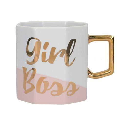 Mug Octagonal Girl Boss